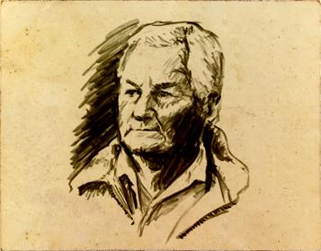 Pierre Seillan Portriat Sketch